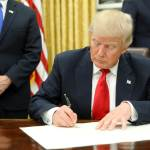 Trump Signs Executive Order To Reorganize Federal Government And Reduce Waste