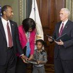 WATCH: VP Mike Pence swears in Ben Carson as HUD secretary