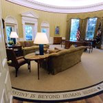 VIDEO: President Trump Gives Fox & Friends A Tour Of The Historic Oval Office