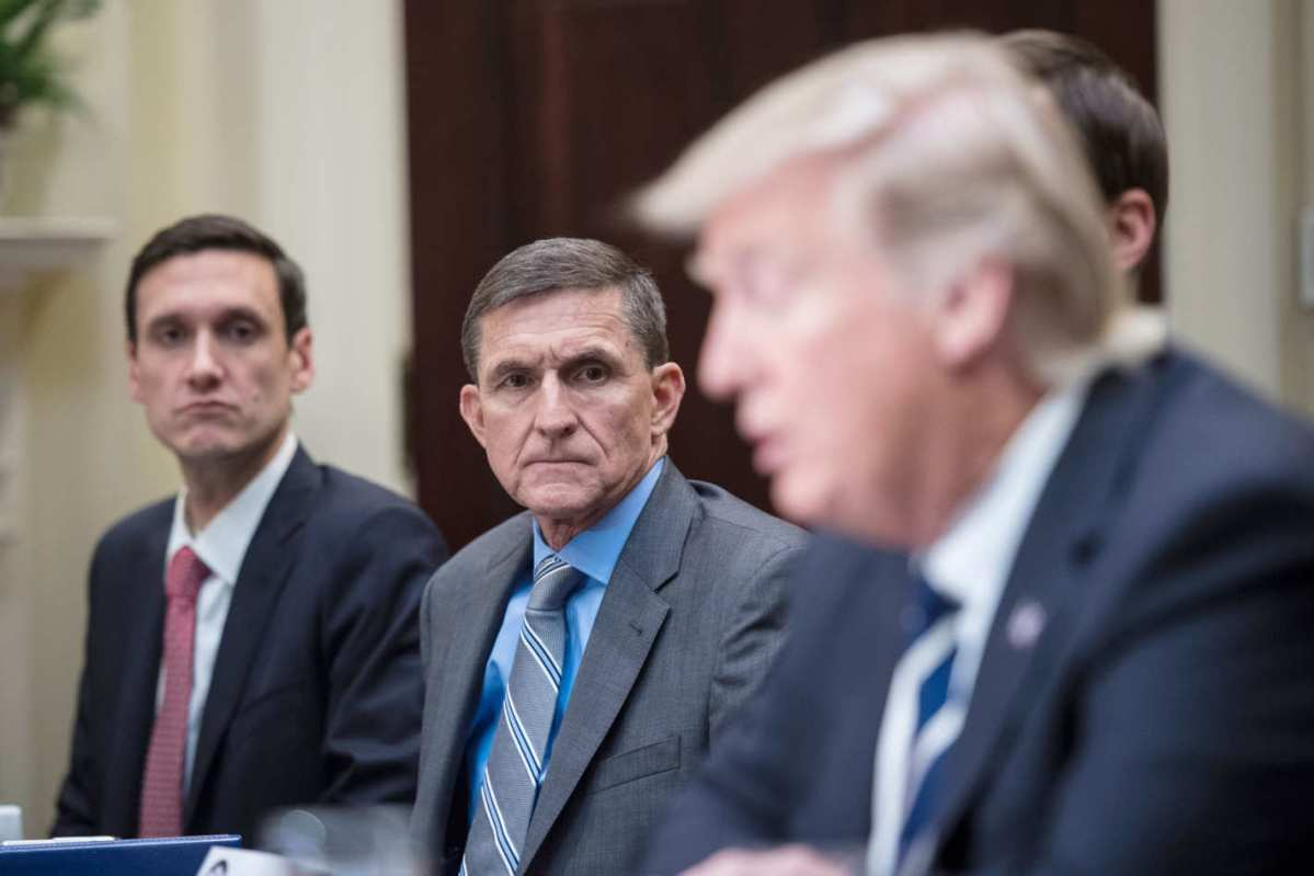 NYT Claims Trump Asked Comey To Drop Michael Flynn Investigation