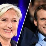 French voters head to polls as historic presidential election pits Emmanuel Macron against Marine Le Pen
