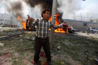 EXCLUSIVE RAW INTEL: Images From Kabul Suicide Bombing; ISIS Claims Credit For Water Tanker Bomb Near Embassies That Killed 80+ – True Pundit