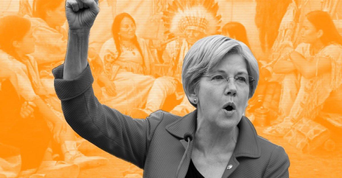 VIDEO– SMOKE SIGNAL: Warren Slams War Drum on GOP tax bill: 'It's government for sale'