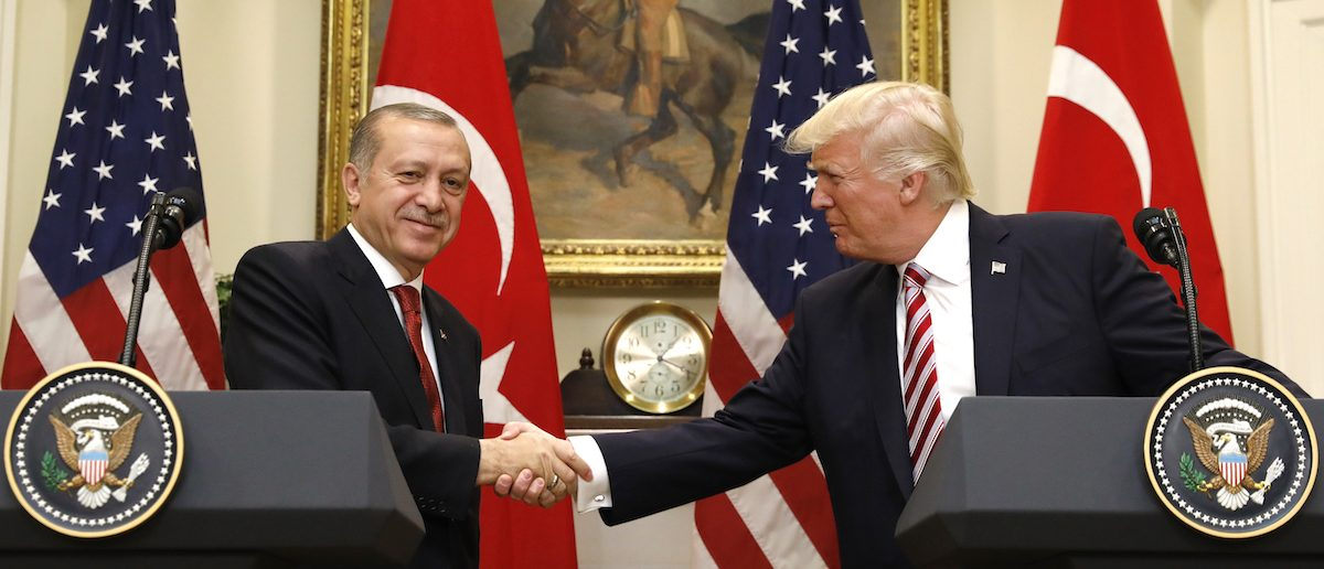 Turkish President Bad Mouth's Trump's Anti-ISIS Strategy To His Face