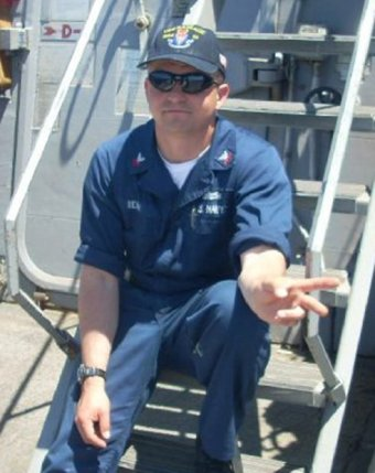 Fire Controlman 1st Class Gary Leo Rehm Jr., from Elyria, Ohio, one of the dead sailors identified by the U.S. Navy from a collision between the U.S. Navy destroyer USS Fitzgerald and Philippine-flagged merchant vessel, is seen in this undated handout photo released by the U.S. Navy on June 19, 2017. Courtesy of U.S. Navy/Handout via REUTERS
