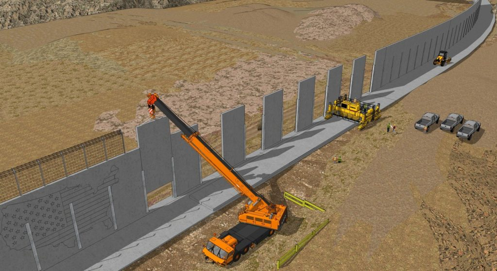 Engineers Begin Prep Work For Border Wall Construction