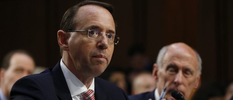 Rosenstein Should Be Fired Unless He Agrees To Second Special Counsel
