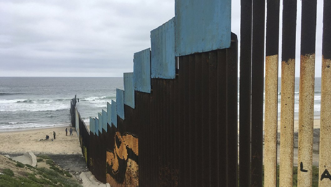Apprehensions at southern border fell further in April