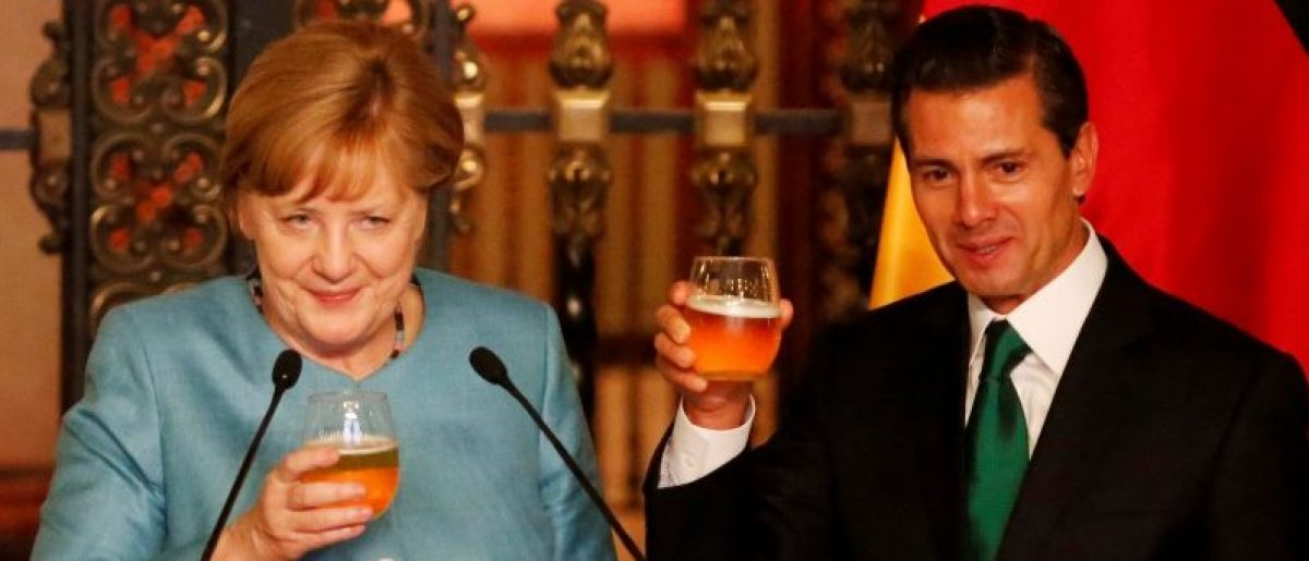 Merkel In Mexico: Walls Don't Work, 'Sensible Relationships' Do