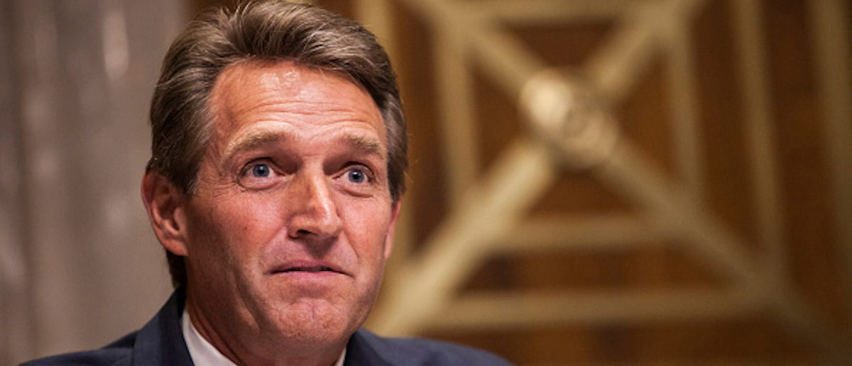 Jeff Flake Is Now A Sage To The Left
