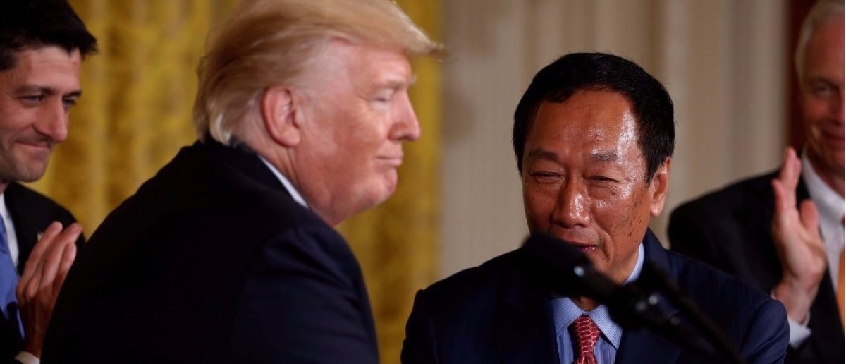 Taiwan-Based Foxconn To Invest Billions In Michigan