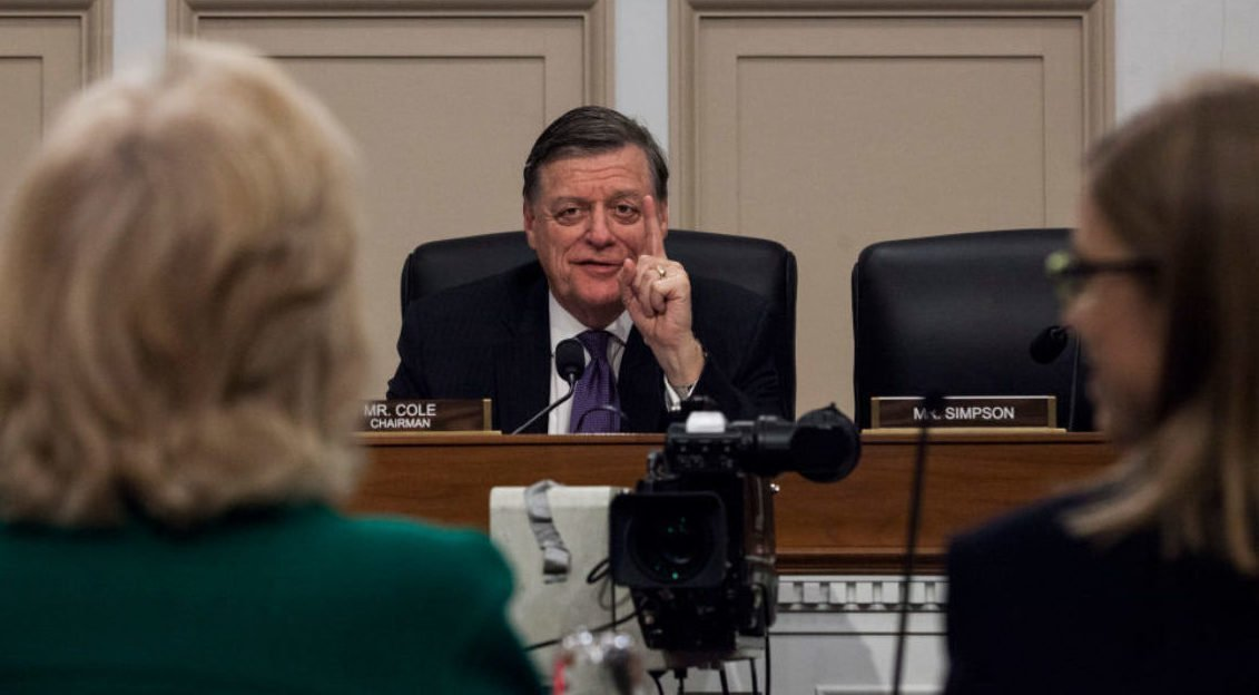 WATCH: Top GOP Rep Rails Against Clean Debt Ceiling