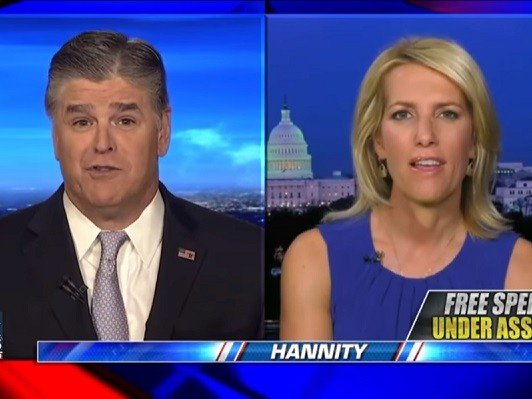 Hannity, Ingraham Propose 'Massive' Free Speech Tour of Liberal College Campuses With Coulter, Limbaugh, Levin - Breitbart