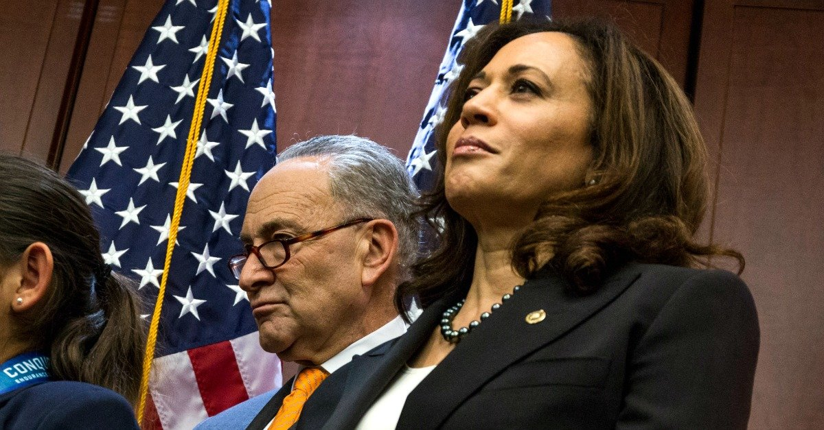 There's a Vicious Rift Forming in Dem Party. And Dem Sen Kamala Harris Is the Cause