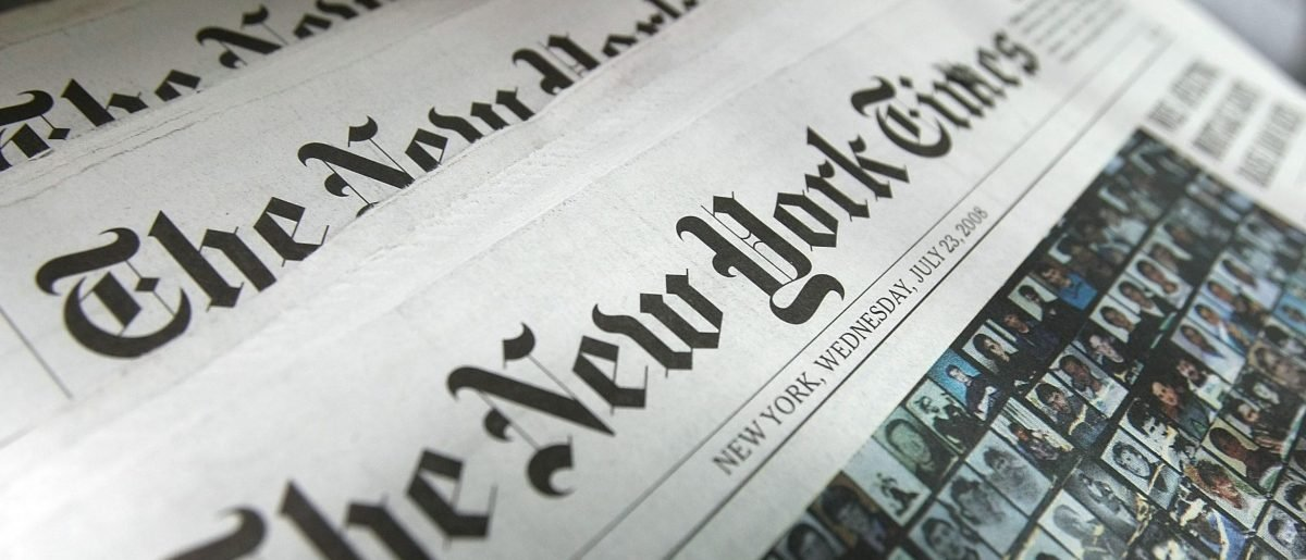 Chuck Schumer, NY Times & Fake World War II News