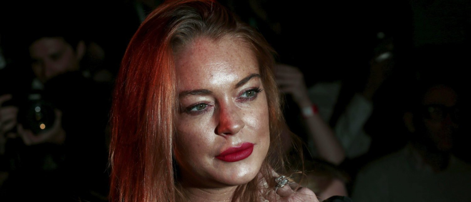 Lindsay Lohan Defends Trump Against The Haters