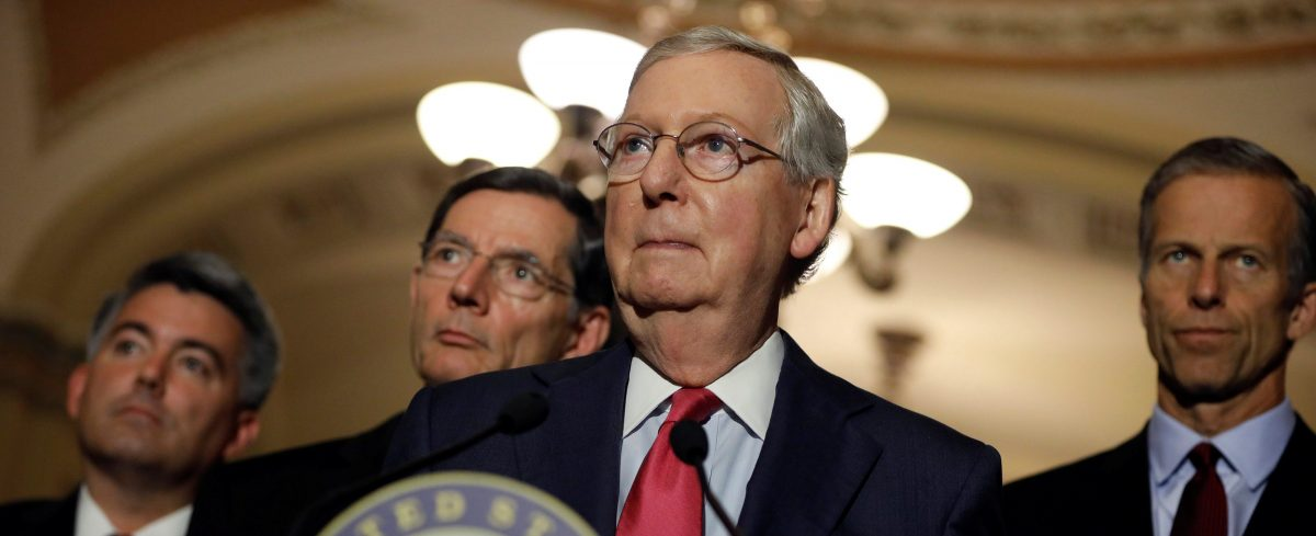 What We Know About The Senate Obamacare Repeal Bill