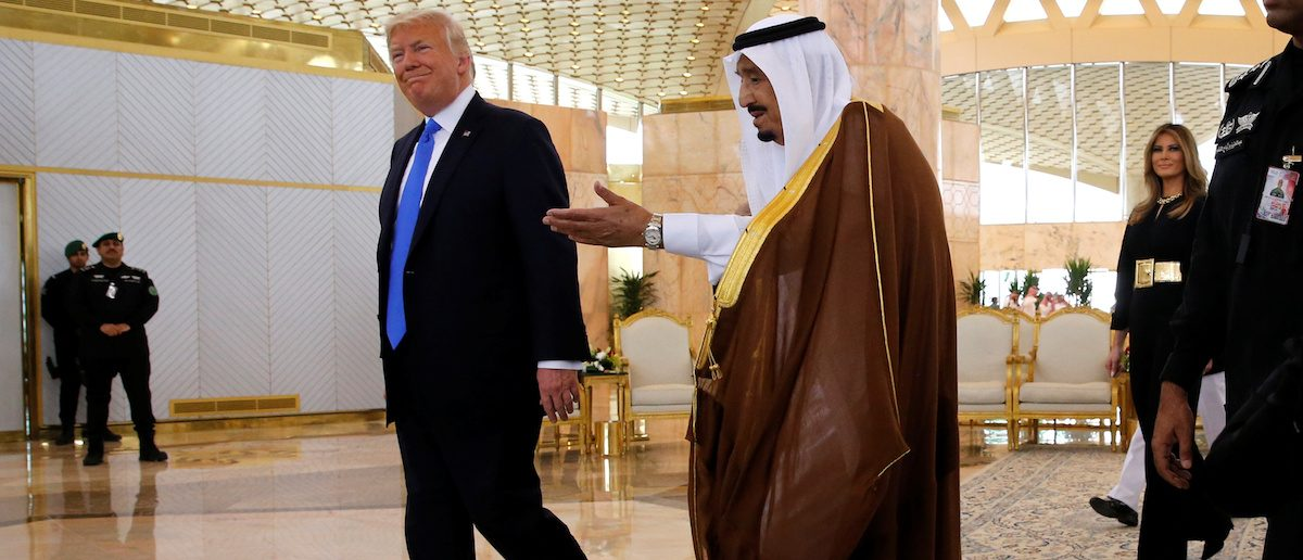 President Trump Breaks From Obama, Doesn't Bow To Saudis During Visit