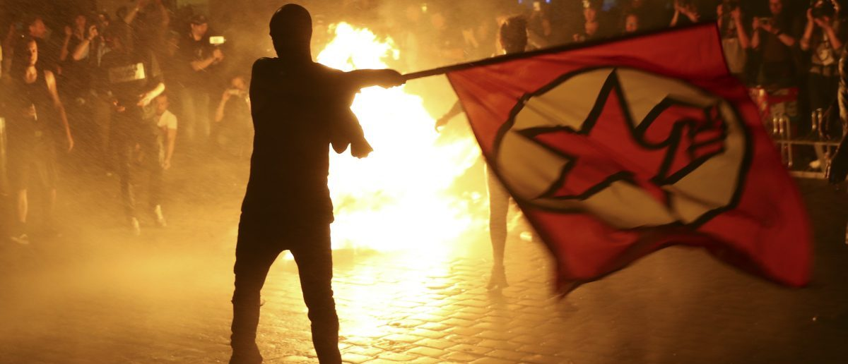 Soros-Funded Militant Group Claims 'German Contingent' At G20 Protests