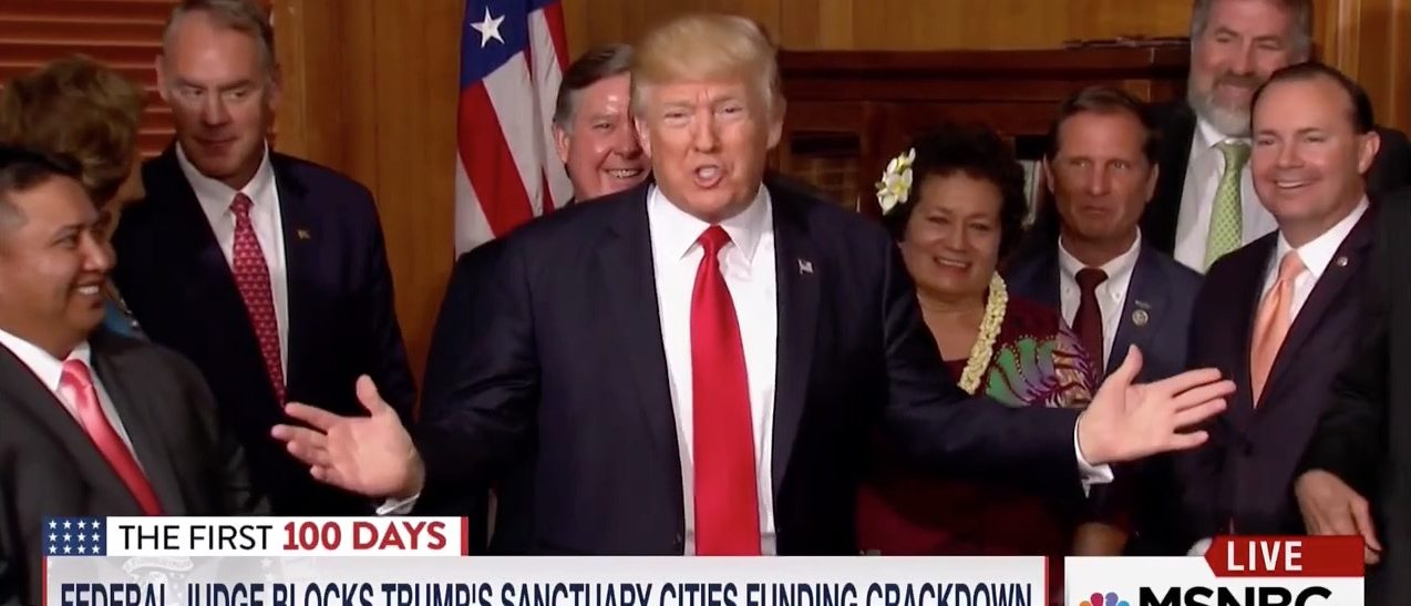 Trump's 7-Word Joke About The Ninth Circuit Court Is WINNING In A Nutshell [VIDEO]