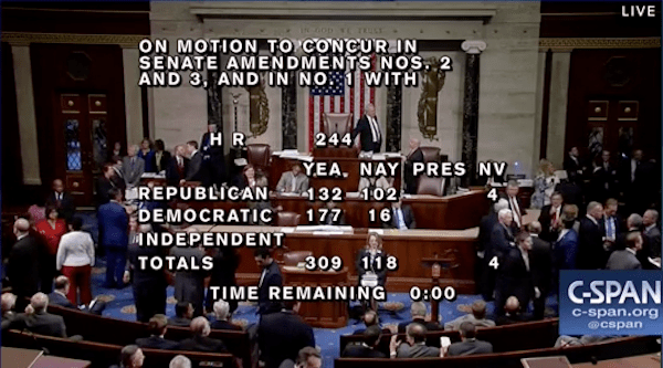102 House Republicans — And Just 16 Democrats — Voted 'No' on Donald Trump's Budget Bill