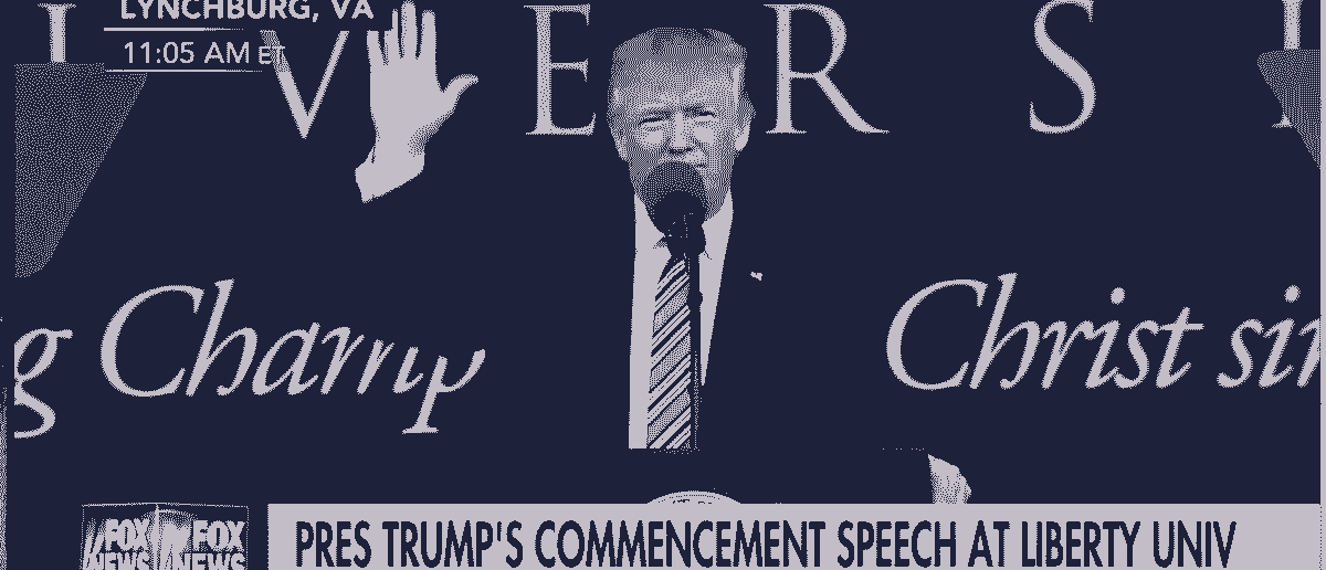 Trump Received A Standing Ovation For His Liberty University Commencement Address