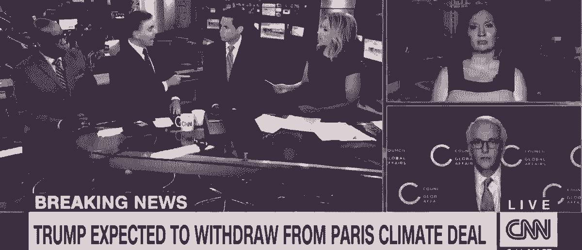 Matt Lewis Schools CNN Panel On Paris Agreement [VIDEO]