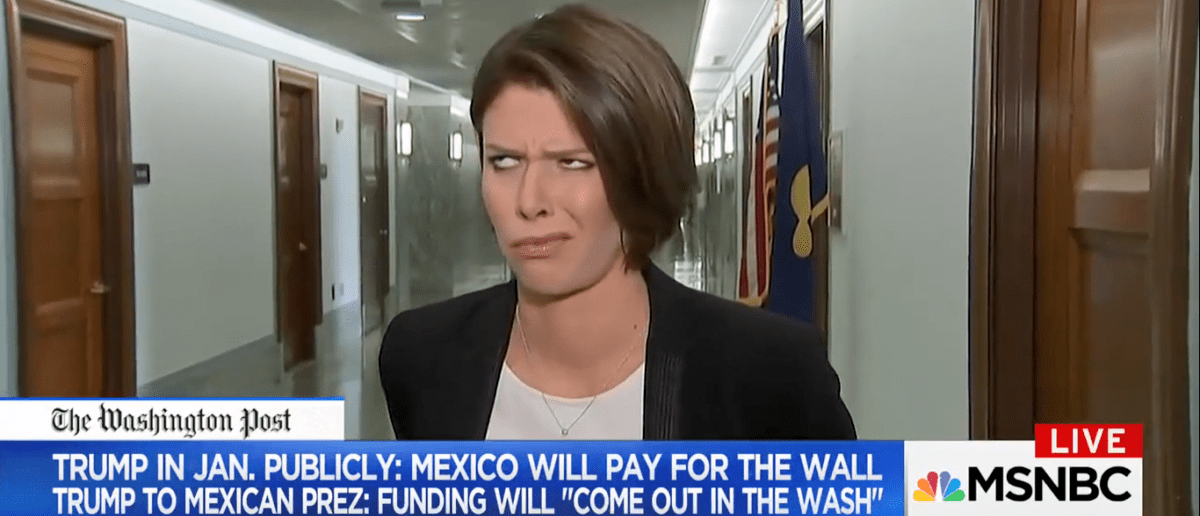 MSNBC Reporter Caught By Surprise Rolling Her Eyes And Sticking Her Tongue Out  [VIDEO]