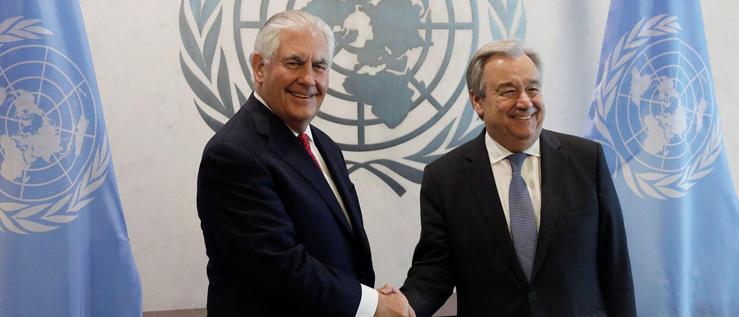 Tillerson: US Will Let Russia Decide Fate Of Assad Regime