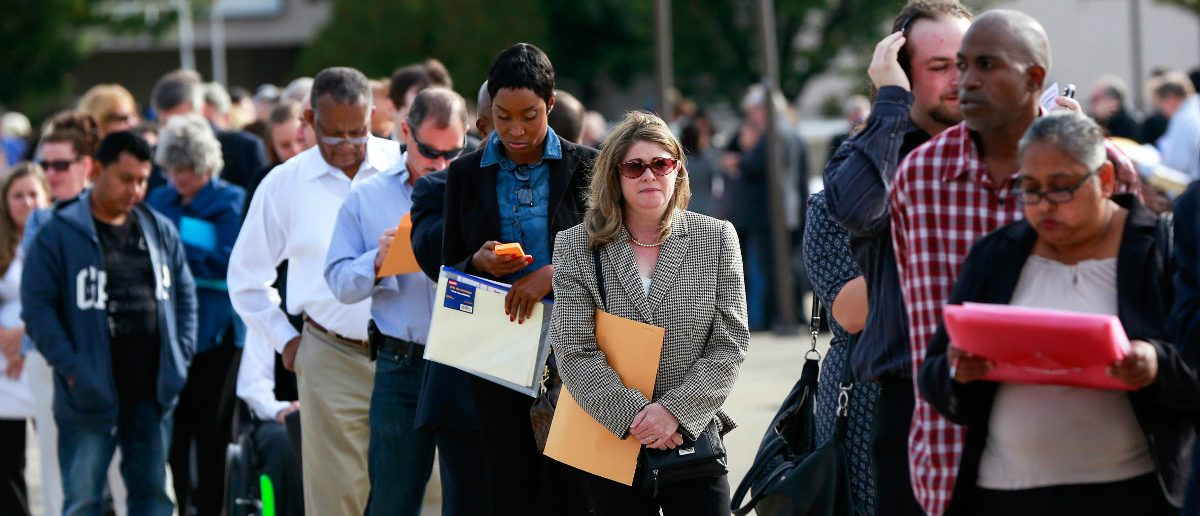 Workers Claiming Unemployment Benefits Hit 28-Year Low