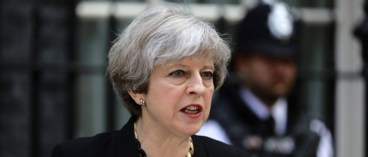 May: We Will Change Human Rights Laws That Get In The Way Of Fighting Terror