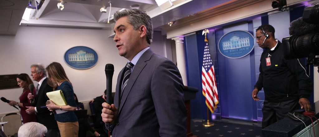 CNN's Jim Acosta Complains That White House Takes Questions From Conservatives
