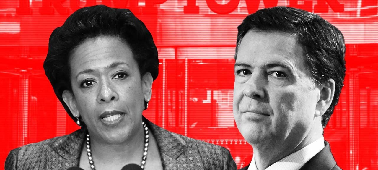 "PART 2 - CONTINUED: America Warned Is Unprepared For Q & Trump's Cataclysmic Destruction Of ""Deep State"" Comey_lynch_-_true_pundit"