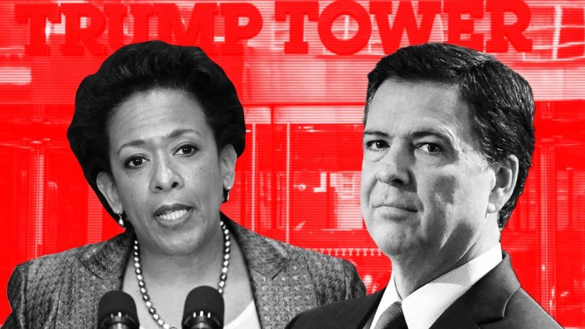 FEDS DROP BOMBSHELL: Comey & Lynch Colluded with Clinton Campaign to Entrap, Wiretap Trump; Illegal Scheme Involved Entire U.S. Intel Community – True Pundit