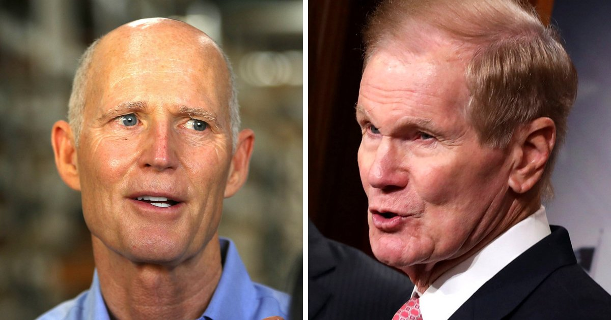 Rick Scott Defeats Bill Nelson In Florida Senate Race After Manual Recount – True Pundit