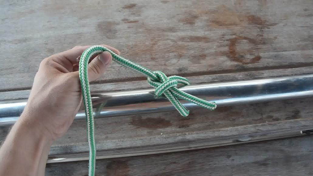 Apprendre à Faire Un Noeud De Chaise  Noeuds Marins