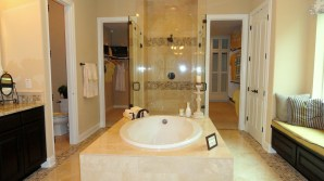 Sumptuous Master Bath at Toll Brothers Model