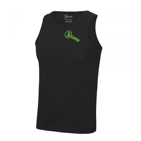 truesapien-mens-running-fitness-vest-wicking-black-green
