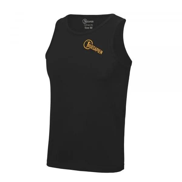 truesapien-mens-running-fitness-vest-wicking-black-orange