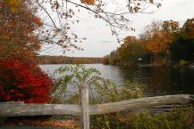 Looking south in the fall (photo by Mary Beth Wright)