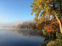 Foggy Fall Morning (photo by Susan Enos)