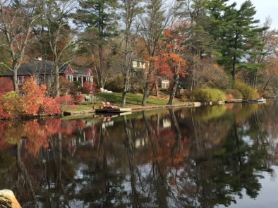 Mirror on the lake (photo by Mary Beth Wright)