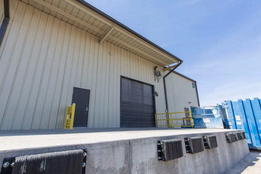 loading dock at Versa Designed Surfaces