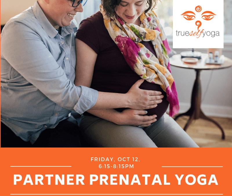 Partner Prenatal Yoga Workshop