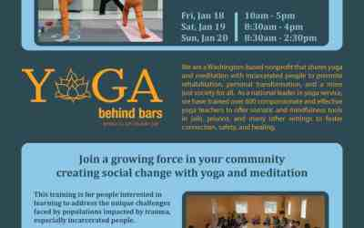 Yoga Behind Bars Trauma Informed Training