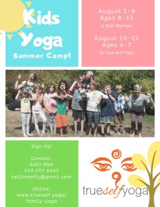 Kids Yoga Summer Camp - Ages 8 - 13 @ Olympia | Washington | United States