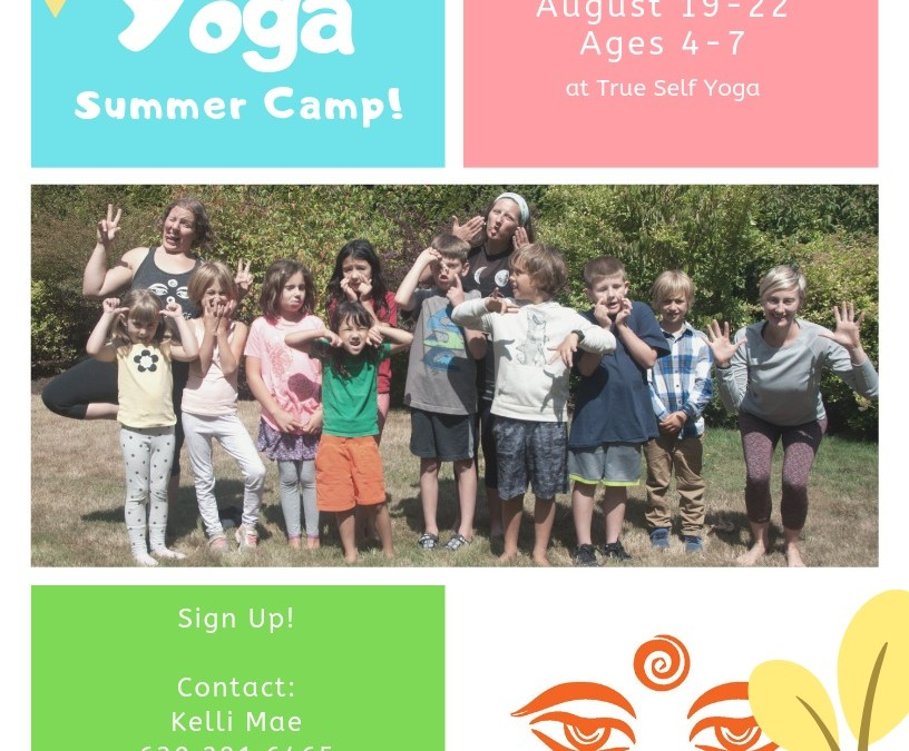 Kids Yoga Summer Camp – Ages 4 – 7