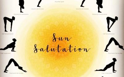 108 Grateful Sun Salutations