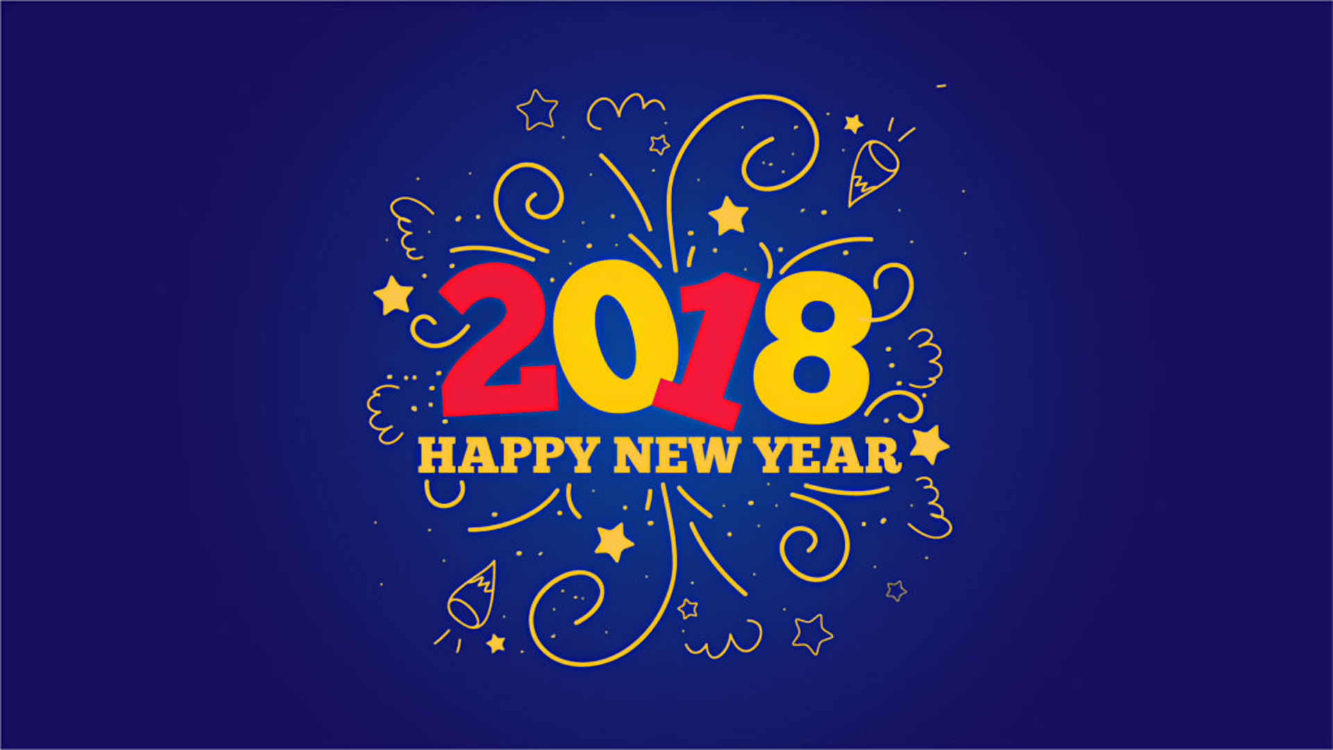 best happy new year 2018 wallpaper images for desktops in