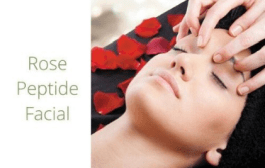 Rose Peptide Facial Calgary skin care clinic